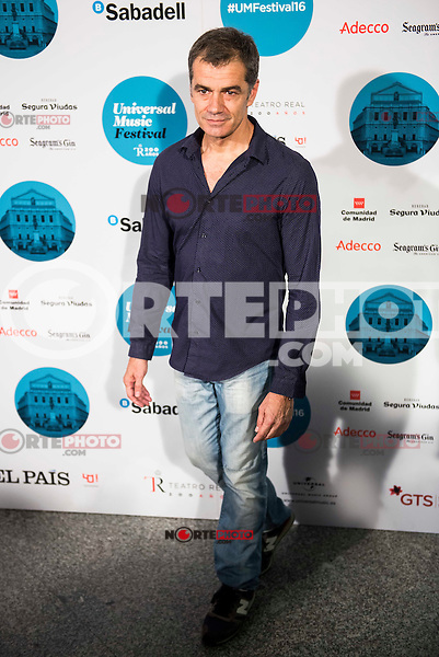 Toni Canto attends to the photocall of the Rod Stewart concert at Teatro Real in Madrid. July 05. 2016. (ALTERPHOTOS/Borja B.Hojas)