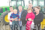 HARVEST FAIR: Having a great time at the Kerry Harvest Fair at Tralee Mart on Sunday l-r: Rachel Willmot, Shane Stack, Paul O'Gorman, Patrick O'Leary, Michella O'Leary and Christina O'Gorman from Listowel and Ardfert.