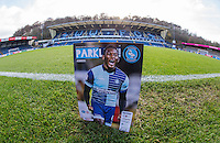 Match day programme during the Sky Bet League 2 match between Wycombe Wanderers and Hartlepool United at Adams Park, High Wycombe, England on 26 November 2016. Photo by Andy Rowland / PRiME Media Images.