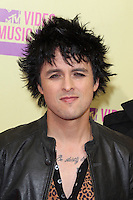 LOS ANGELES, CA - SEPTEMBER 06: Billie Joe Armstrong at the 2012 MTV Video Music Awards at The Staples Center on September 6, 2012 in Los Angeles, California. &copy;&nbsp;mpi28/MediaPunch inc. /NortePhoto.com<br />