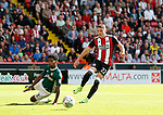 Caolan Lavery of Sheffield Utd during the English Championship League match at Bramall Lane Stadium, Sheffield. Picture date: August 5th 2017. Pic credit should read: Simon Bellis/Sportimage