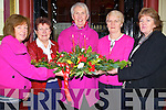 FLOWERS: Ladies of Tralee Flowers and Garden Club launched their Christmas Flower show in the Grand Hotel, Tralee on Saturday morning. l-r:  Mary Holly, Margaret Groves, Phil Daly (chairperson) Kathleen Reide and Kay O'Halloran.