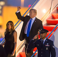 Donald Trump Arrives In West Palm Beach