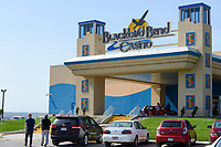 USA, Iowa, Omaha Reservation, Blackbird Bend Casino in Onawa, income generation for the native american community