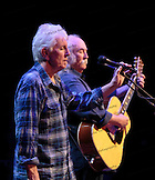 David Crosby and  Graham Nash  at the Neal S. Blaisdell Center in Honolulu, HI, with James Raymond on keyboards and Shane Fontayne on lead guitar.