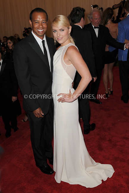 WWW.ACEPIXS.COM . . . . . .May 6, 2013...New York City....Tiger Woods and his girlfriend Lindsey Vonn attending the PUNK: Chaos to Couture Costume Institute Benefit Gala at The Metropolitan Museum of Art in New York City on May 6, 2013  in New York City ....Please byline: Kristin Callahan...ACEPIXS.COM...Ace Pictures, Inc: ..tel: (212) 243 8787 or (646) 769 0430..e-mail: info@acepixs.com..web: http://www.acepixs.com .