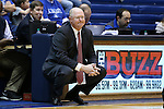 17 December 2015: Liberty head coach Carey Green. The Duke University Blue Devils hosted the Liberty University Flames at Cameron Indoor Stadium in Durham, North Carolina in a 2015-16 NCAA Division I Women's Basketball game. Duke won the game 79-41.