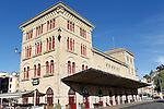 Estella-Lizarra.Navarra.Espana..Estella-Lizarra.Navarra.Spain..Estacion de autobuses..Bus Station..(ALTERPHOTOS/Alfaqui/Acero)