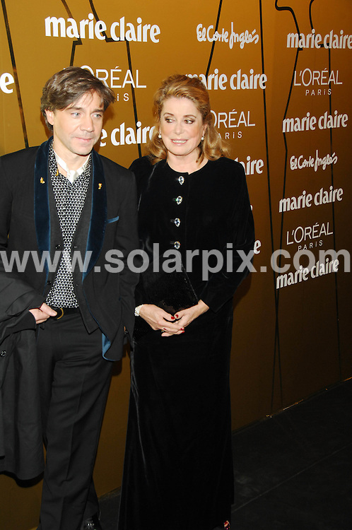 **ALL ROUND PICTURES FROM SOLARPIX.COM**.**SYNDICATION RIGHTS FOR UK, CANADA, USA, SOUTH AFRICA, SOUTH AMERICA, DUBAI, AUSTRALIA, NEW ZEALAND, GREECE, ASIA & RUSSIA**.arrivals for the Spanish Marie Claire Awards, celebrated at French Ambassador's Residence in Madrid with the assistance of several guests. Madrid, Spain. 20th November 2008..This pic: french actress Catherine Deneuve..JOB REF: 7970 SPA     DATE: 20_11_2008.**MUST CREDIT SOLARPIX.COM OR DOUBLE FEE WILL BE CHARGED* *UNDER NO CIRCUMSTANCES IS THIS IMAGE TO BE REPRODUCED FOR ANY ONLINE EDITION WITHOUT PRIOR PERMISSION*