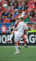 16 May 09: Chicago Fire midfielder Cuauhtemoc Blanco #10 in action at BMO Field during a game between the Chicago Fire and Toronto FC..Chicago Fire won 2-0..