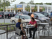 Noodles & Company restaurant located in the Shops at Stonefield in Charlottesville, VA. Photo/Andrew Shurtleff