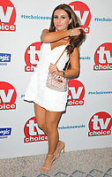 Dani Dyer at the TV Choice Awards 2018, The Dorchester Hotel, Park Lane, London, England, UK, on Monday 10 September 2018.