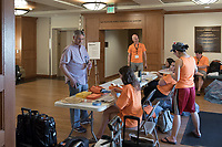 "Occidental College hosts the Oxy Food Conference, an annual meeting and conference for the Agriculture, Food and Human Values Society (AFHVS)/Association for the Study of Food and Society (ASFS). The event ran from June 14-17, 2017 and was organized by Oxy associate professor of sociology John Lang. This was the first time Oxy hosted this conference.<br /> More than 500 food scholars converged for one of the discipline's largest international conferences and the chance to discuss everything from sustainable agricultural and fisheries practices to the cultural significance of Basque-American ""picon punch.""<br /> (Photo by Marc Campos, Occidental College Photographer)"