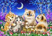 Kayomi, CUTE ANIMALS, LUSTIGE TIERE, ANIMALITOS DIVERTIDOS, paintings+++++,USKH289,#ac#, EVERYDAY