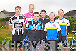 CONOR PASS CHALLENGE: Taking part in the 2012 Chain Gang cycling club sportives Conor Pass Challenge and Blasket Blast at the Kerins O'Rahillys clubhouse, Tralee on Saturday l-r: John Barrett, Mick Tierney, Kevin Tempany, Cal Condon, Brian Scanlon and David Wallace.