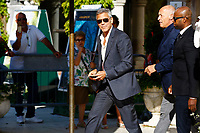 VENICE, ITALY - SEPTEMBER 01: George Clooney is seen leaving the Hotel Excelsior after giving interviews during the 74th Venice Film Festival on September 1, 2017 in Venice, Italy.  Credit: John Rasimus/MediaPunch ***FRANCE, SWEDEN, NORWAY, DENARK, FINLAND, USA, CZECH REPUBLIC, SOUTH AMERICA ONLY***