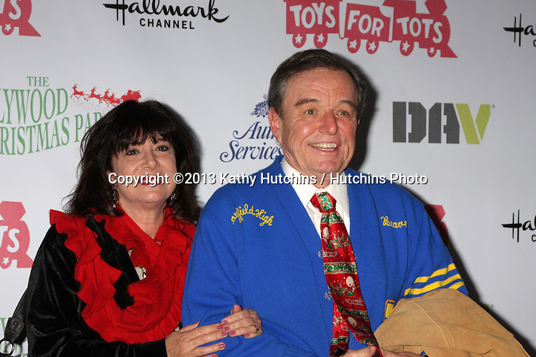 LOS ANGELES - DEC 1:  Jerry Mathers at the 2013 Hollywood Christmas Parade at Hollywood & Highland on December 1, 2013 in Los Angeles, CA