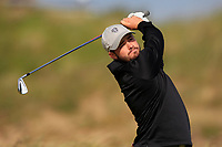 Stephen Shephard (USA) on the 5th tee during Round 1 of the The Amateur Championship 2019 at The Island Golf Club, Co. Dublin on Monday 17th June 2019.<br /> Picture:  Thos Caffrey / Golffile<br /> <br /> All photo usage must carry mandatory copyright credit (© Golffile | Thos Caffrey)
