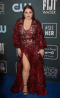 SANTA MONICA, CA - JANUARY 13: Lauren Ash attends the 24th annual Critics' Choice Awards at Barker Hangar on January 12, 2020 in Santa Monica, California. <br /> CAP/MPI/IS/CSH<br /> ©CSHIS/MPI/Capital Pictures