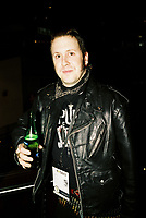 Toronto (ON) CANADA, April 21, 2007<br /> <br /> Eric ROACH Denis, cinéaste (PUNK VOTE)<br /> at the HOT DOCS Film Festival 2007 <br />  Canadian Party held at the BATA Show Museum.<br /> <br />     photo by Pierre Roussel - Images Distribution