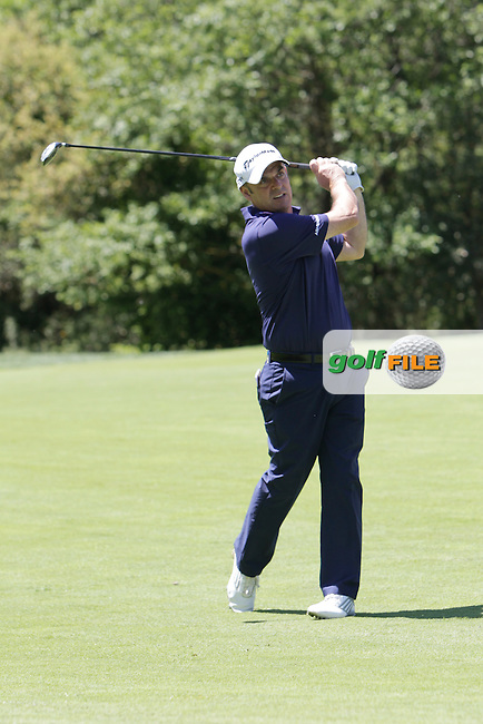 Paul McGinley (IRL) during the Pro-Am in The Open De Espana at The PGA Catalunya Resort on Wednesday 14th May 2014.<br /> Picture:  Thos Caffrey / www.golffile.ie