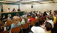21-2-07,Tennis,Netherlands,Rotterdam,ABNAMROWTT, Kidsday, kidspressconference