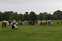 Part of the support at the 15th during the Final of the Irish Mixed Foursomes Leinster Final at Millicent Golf Club, Clane, Co. Kildare. 06/08/2017<br /> Picture: Golffile | Thos Caffrey<br /> <br /> <br /> All photo usage must carry mandatory copyright credit     (&copy; Golffile | Thos Caffrey)