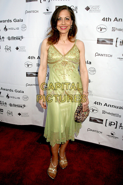VICKI ROBERTS.4th Annual Indie Producers Awards Gala, Beverly Hills, California, USA. .May 12th, 2006.Photo: Byron Purvis/Capital Pictures.Ref: BP/ADM.full length green dress.www.capitalpictures.com.sales@capitalpictures.com.© Capital Pictures.