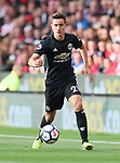 Manchester United's Ander Herrera in action during the premier league match at the Britannia Stadium, Stoke on Trent. Picture date 9th September 2017. Picture credit should read: David Klein/Sportimage