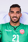 Goalkeeper Yusuf Habib Hasan of Bahrain prior to the AFC Asian Cup UAE 2019 Group A match between Bahrain (BHR) and Thailand (THA) at Al Maktoum Stadium on 10 January 2019 in Dubai, United Arab Emirates. Photo by Marcio Rodrigo Machado / Power Sport Images