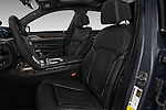 Front seat view of 2017 BMW 7 Series 740i 4 Door Sedan Front Seat  car photos