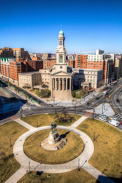 Thomas Circle Washington DC Architecture