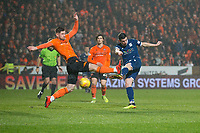 27th December 2019; Dens Park, Dundee, Scotland; Scottish Championship Football, Dundee Football Club versus Dundee United; Graham Dorrans of Dundee scores for 1-1 in the 50th minute - Editorial Use