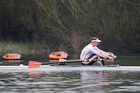 Caversham. Berkshire. UK<br /> Frazier CHRISTIE;<br /> 2016 GBRowing U23 Trials at the GBRowing Training base near Reading, Berkshire.<br /> <br /> Monday  11/04/2016 <br /> <br /> [Mandatory Credit; Peter SPURRIER/Intersport-images]