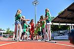 29.06.2019, Stadion Ratingen, Ratingen, DLV, Mehrkampfmeeting im Bild Carolina Klein ( TSV Bayer04 Leverkusen ) beim Einlauf.<br /> <br />   <br /> <br /> Foto © nordphoto / Freund