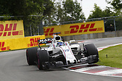 June 11th 2017, Circuit Gilles Villeneuve, Montreal Quebec, Canada; Formula One Grand Prix, Race Day. #19 Felipe Massa (BRA, Williams Martini Racing)