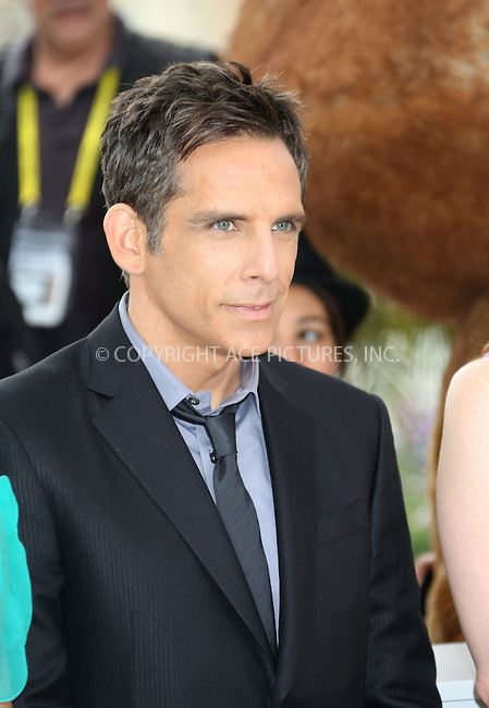 "WWW.ACEPIXS.COM . . . . .  ..... . . . . US SALES ONLY . . . . .....May 18 2012, Cannes....Ben Stiller at the photocall for ""Madagascar 3: Europe's Most Wanted"" at the Cannes Film Festival on May 18 2012  in France ....Please byline: FAMOUS-ACE PICTURES... . . . .  ....Ace Pictures, Inc:  ..Tel: (212) 243-8787..e-mail: info@acepixs.com..web: http://www.acepixs.com"