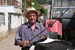 Lin-Pogradec-Albania - August 02, 2004---A man at/from the village of Lin; region/village of project implementation by GTZ-Wiram-Albania (German Technical Cooperation, Deutsche Gesellschaft fuer Technische Zusammenarbeit (GTZ) GmbH); people-portrait---Photo: © HorstWagner.eu