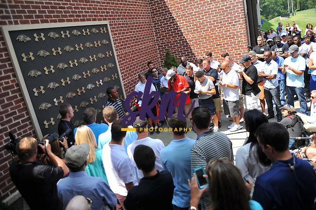 Day 8 of Ravens Training Camp was held Thursday morning out at Under Armour Performance Center in Owings Mills.