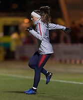 Paisley, Scotland - November 12, 2018:  The USWNT defeated Scotland 1-0 at St Mirren Park.