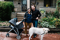 Levi Nager and family from he first two weeks of life. <br /> <br /> Photo by Matt Nager
