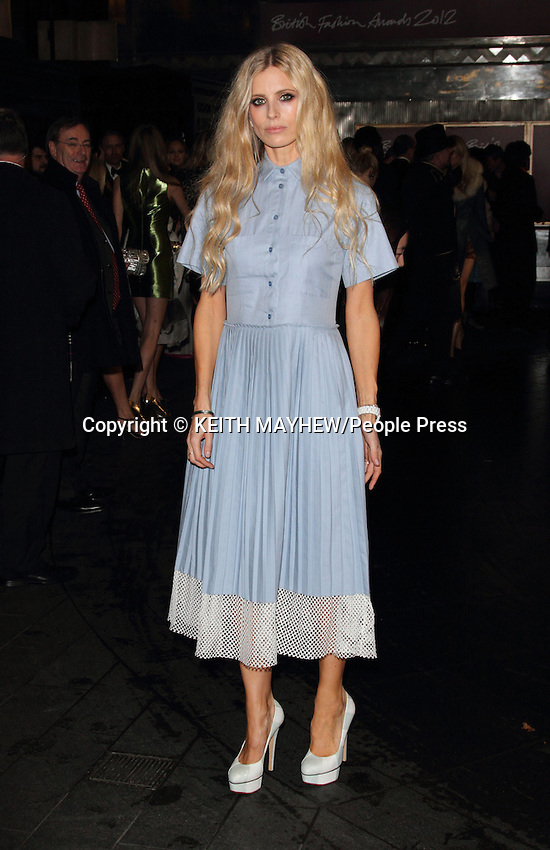 London - British Fashion Awards - Outside arrivals at the Savoy Hotel, The Strand, London - November 27th 2012..Photo by Keith Mayhew