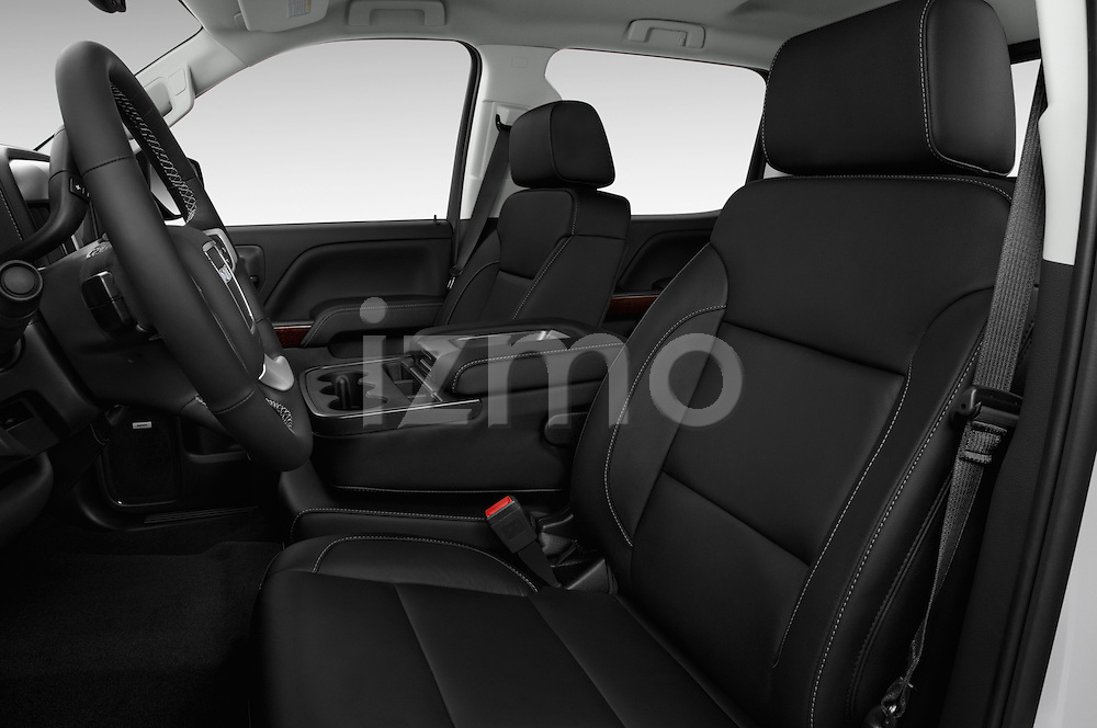 Front seat view of 2017 GMC Sierra-1500 Crew-Cab-Short-Box-SLT 4 Door Pickup Front Seat  car photos