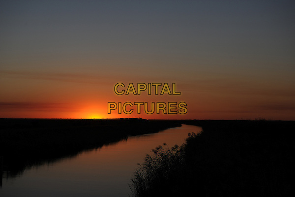 CORAL SPRINGS FL - OCTOBER 22: General view of Sunset at Everglades National Park on October 22, 2016 in Coral Springs, Florida.     <br /> CAP/MPI04<br /> &copy;MPI04/Capital Pictures