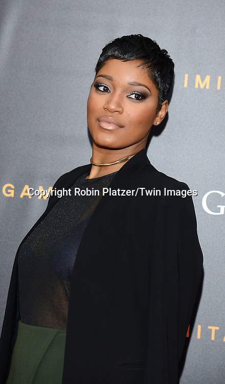 KeKe Palmer attends The US Premiere of &quot;The Imitation Game&quot; at the Ziegfeld Theatar in New York City on November 17, 2014.<br /> <br /> photo by Robin Platzer/Twin Images<br />  <br /> phone number 212-935-0770