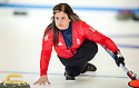 The womens Team GB Winter Olympic Curling Team 2014 :  Vicki Adams.