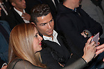 Real Madrid´s Cristiano Ronaldo attends Jorge Mendes´s book presentation in Madrid, Spain. January 22, 2015. (ALTERPHOTOS/Victor Blanco)