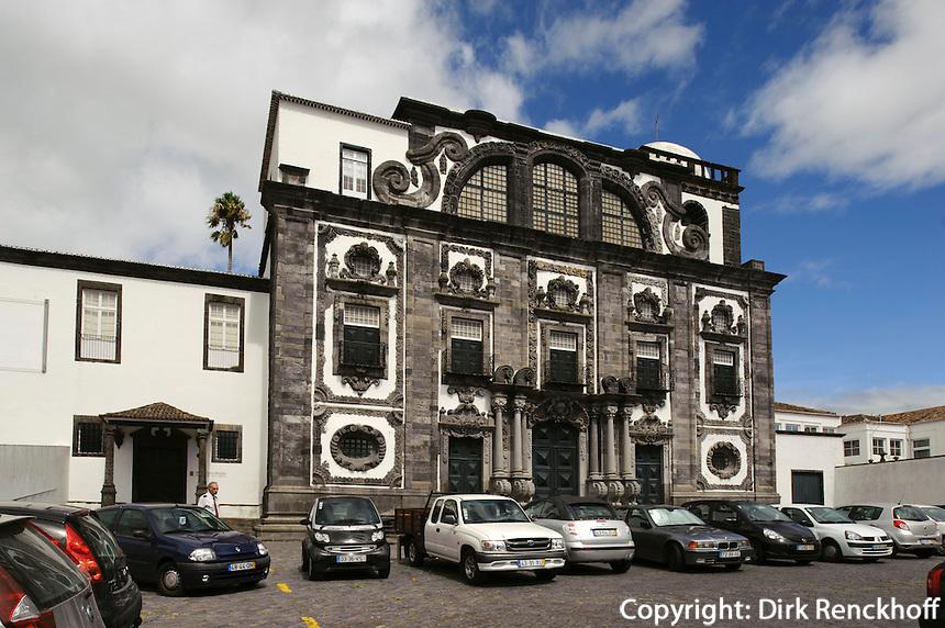Colegios de Todo os Santos in Ponta Delgada auf der Insel Sao Miguel, Azoren, Portugal