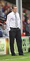 Stevenage manager Graham Westley - Walsall v Stevenage - Sky Bet League One - Banks's Stadium, Walsall - 19th October 2013. <br /> © Kevin Coleman 2013