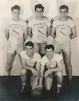 U.S.S. Shangri-La (CV-38) V-50 Basketball team - 1944 or 1945<br />